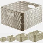 Rotho Aufbewahrungsbox - Kunststoff - A5 - verschiedene Farben