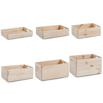 Zeller Allzweckkiste – Holz – 40 x 30 x 7 cm