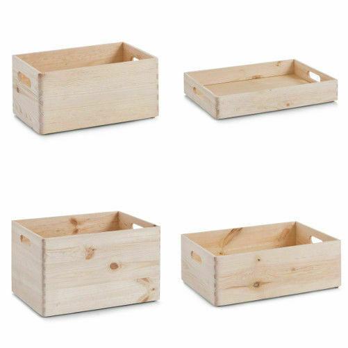 Zeller Allzweckkiste – Holz – 40 x 30 x 15 cm