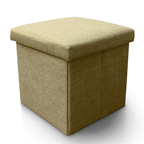 X-Labor Sitzhocker mit Stauraum, faltbar , 30 x 30 x 30 cm