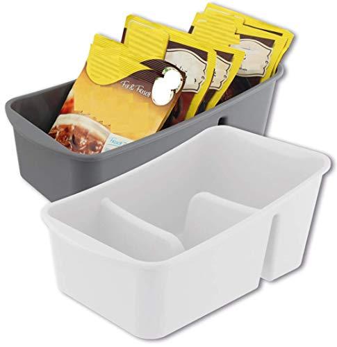 Organizer für die Küche: Suppentüten, Gewürze, Gewürzmischungen