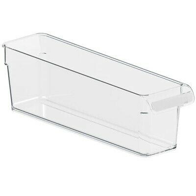 Rotho Loft Kühlschrank Organizer – transparent – 31 x 7,5 x 9 cm