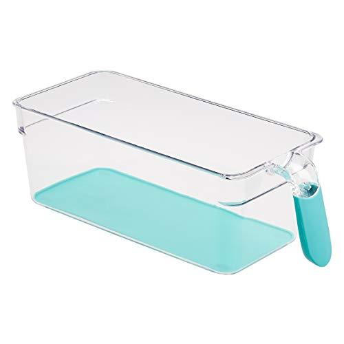 AmazonBasics – Kühlschrank-Behälter mit Griff, klein