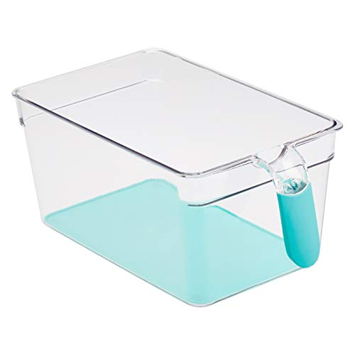 AmazonBasics – Kühlschrank-Behälter mit Griff, groß