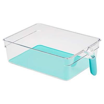 AmazonBasics – Kühlschrank-Behälter mit Griff, extra groß