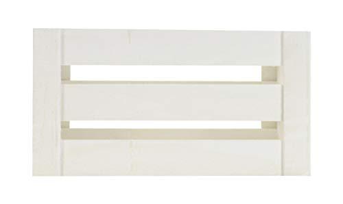 DARO DEKO Holz Kiste mit Griffen – weiß – M
