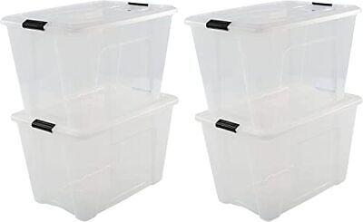 IRIS OHYAMA Aufbewahrungsboxen – Klickverschluss, Plastik – 45l