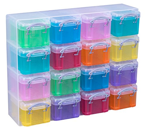 Really Useful Box 9 x 6,5 x 5,5 cm – 0,14l – 16er Set