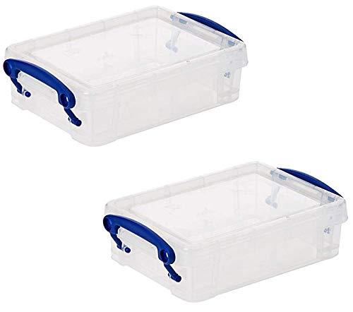 Really Useful Box 15,5 x 10 x 4 cm – 0,35l – 2er Set