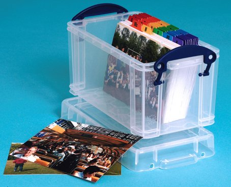 Really Useful Box 24 x 13 x 12,5 cm – 2,1l – 6er Set
