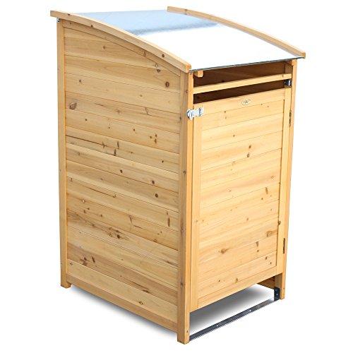 Habau Mülltonnenbox – 65 x 75 x 115 cm – bis 120l