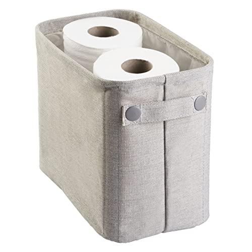 mDesign Toilettenpapierhalter aus Baumwolle