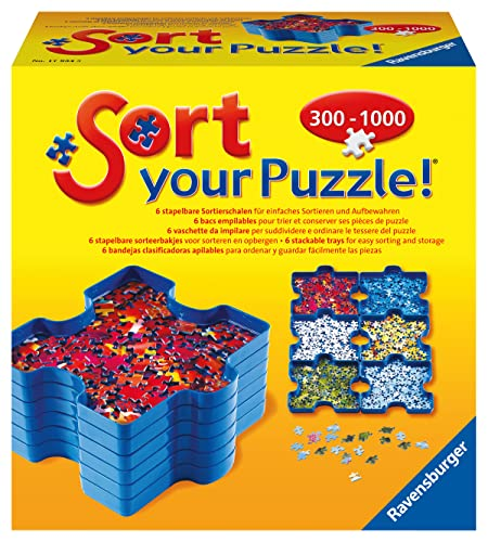 Ravensburger 179343 – Sort Your Puzzle – Sortierschalen