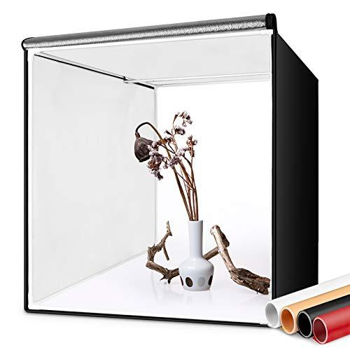 FOSITAN Fotostudio – faltbare Studiobox – 60 cm Würfel