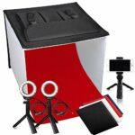 FOSITAN Fotostudio - faltbare Studiobox - 40 cm Würfel