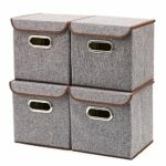 EZOWare Aufbewahrungsboxen inkl. Deckel - 4er Set