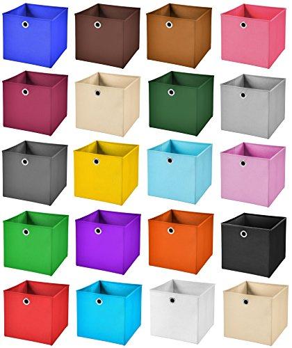StickandShine Faltbox 28 x 28 x 28 cm –  4er Set