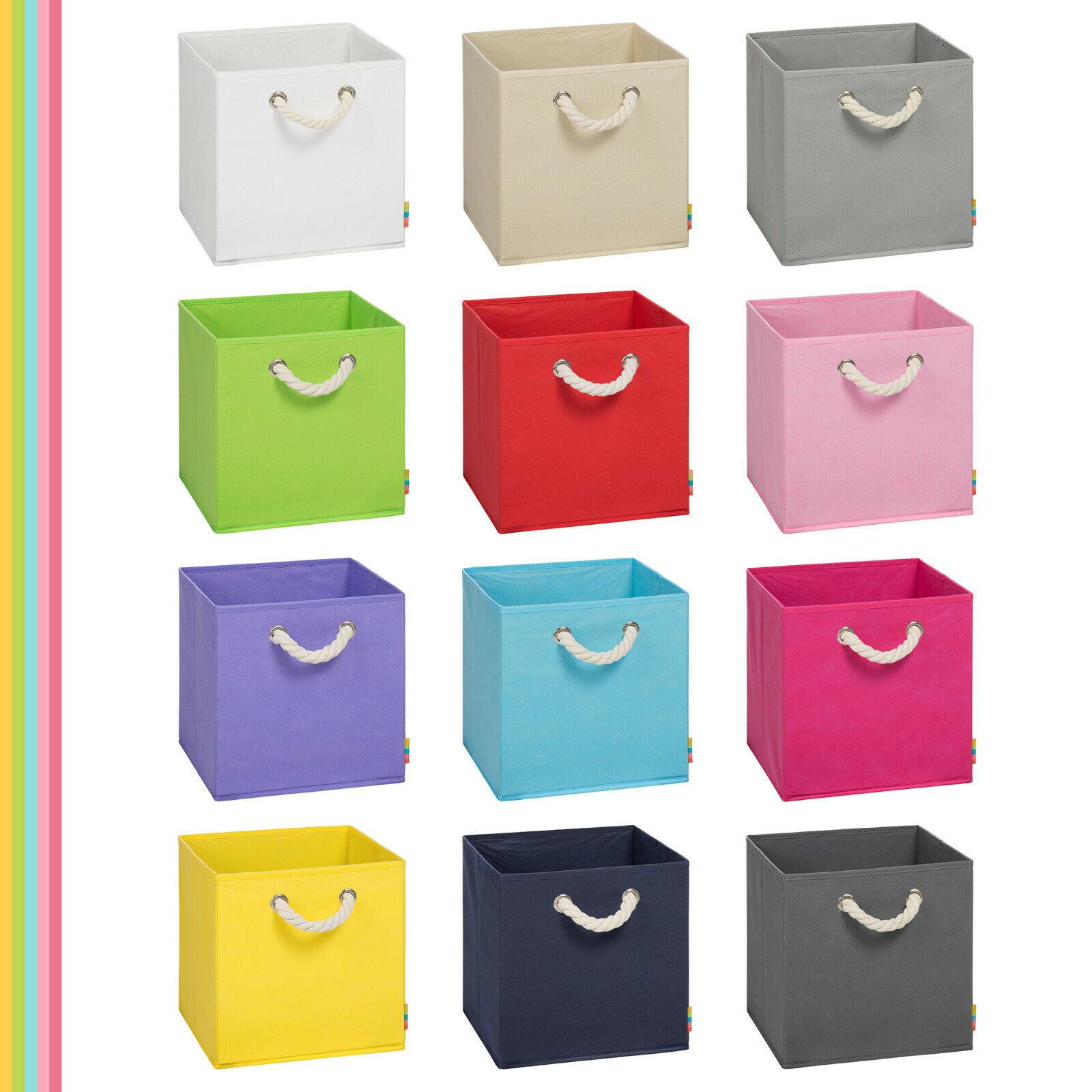 Storanda) Aufbewahrungsbox Leo – 30x30x30 cm