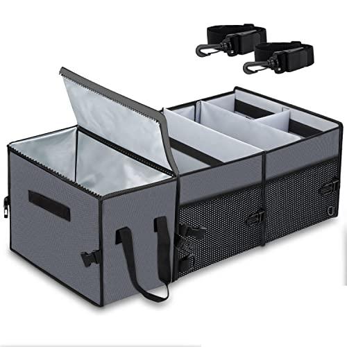 X-cosrack faltbare Kofferraumtasche mit Klett Spanngurten