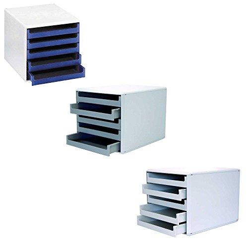 Metzger & Mendle 30050909 Schubladenbox mit 5 Schüben