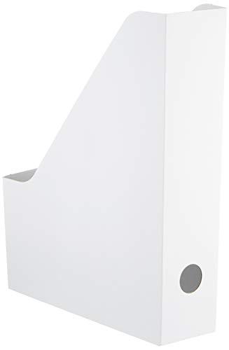 Ikea IKE-003.241.32 FLUNS Zeitschriftensammler – weiß – 4 Stück
