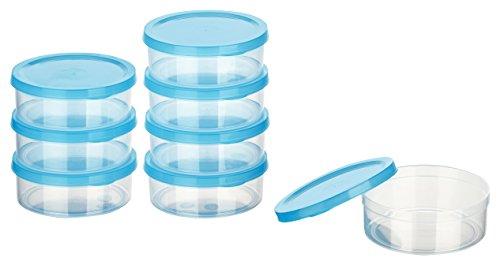 Kigima Mini-Tiefkühldose rund – 200ml – 8er Set