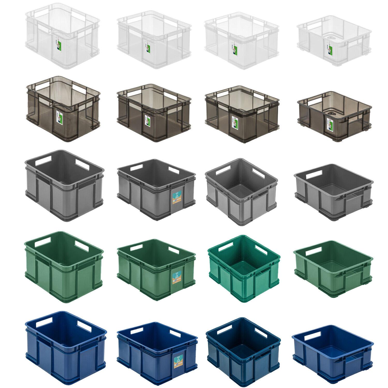 keeeper Euro-Box Bruno – transparent – 52 x 43 x 28 cm