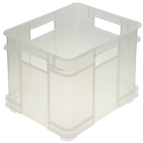 keeeper Euro-Box Bruno – transparent – 43 x 35 x 17,5 cm