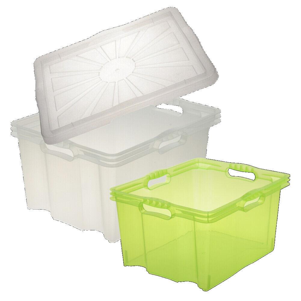 keeeper Franz Aufbewahrungsbox mit Dreh-Stapelsystem – 35 x 21 x 15 cm