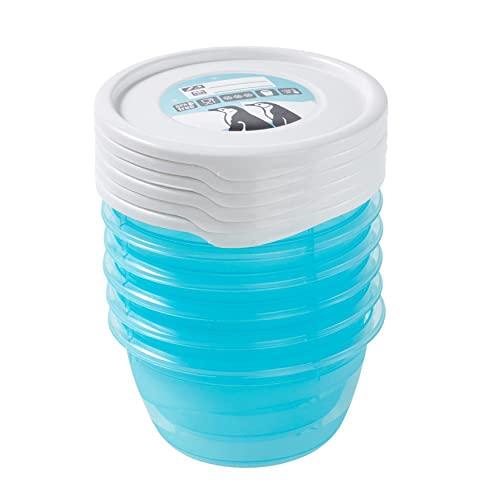 keeeper Mia Polar Tiefkühldose – 9,5 x 5 cm – rund – 6er Set