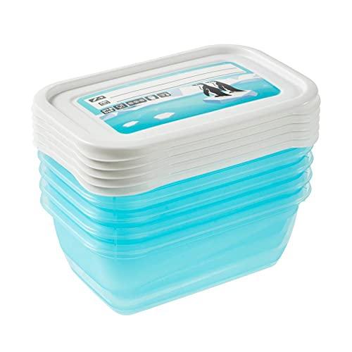 keeeper Mia Polar Tiefkühldose – 15,5 x 10,5 x 6 cm – eckig – 5er Set