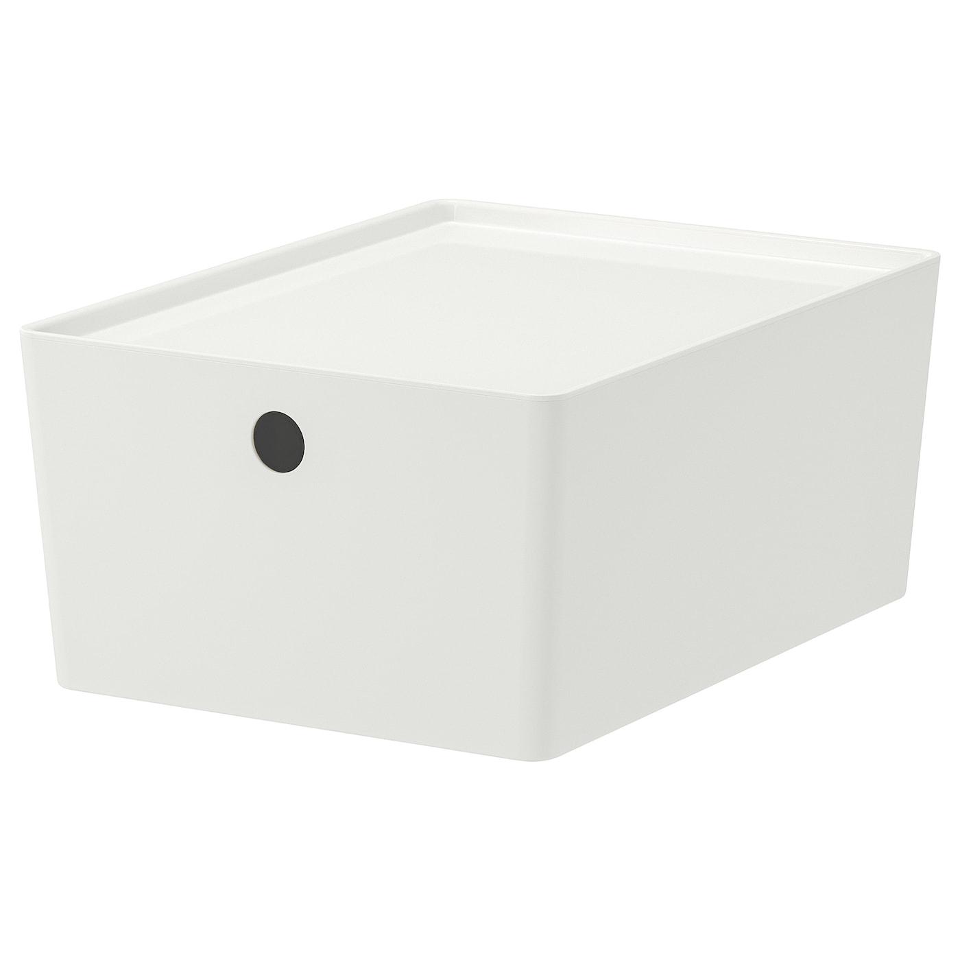 IKEA KUGGIS Box mit Deckel – 35 x 26 x 15 cm