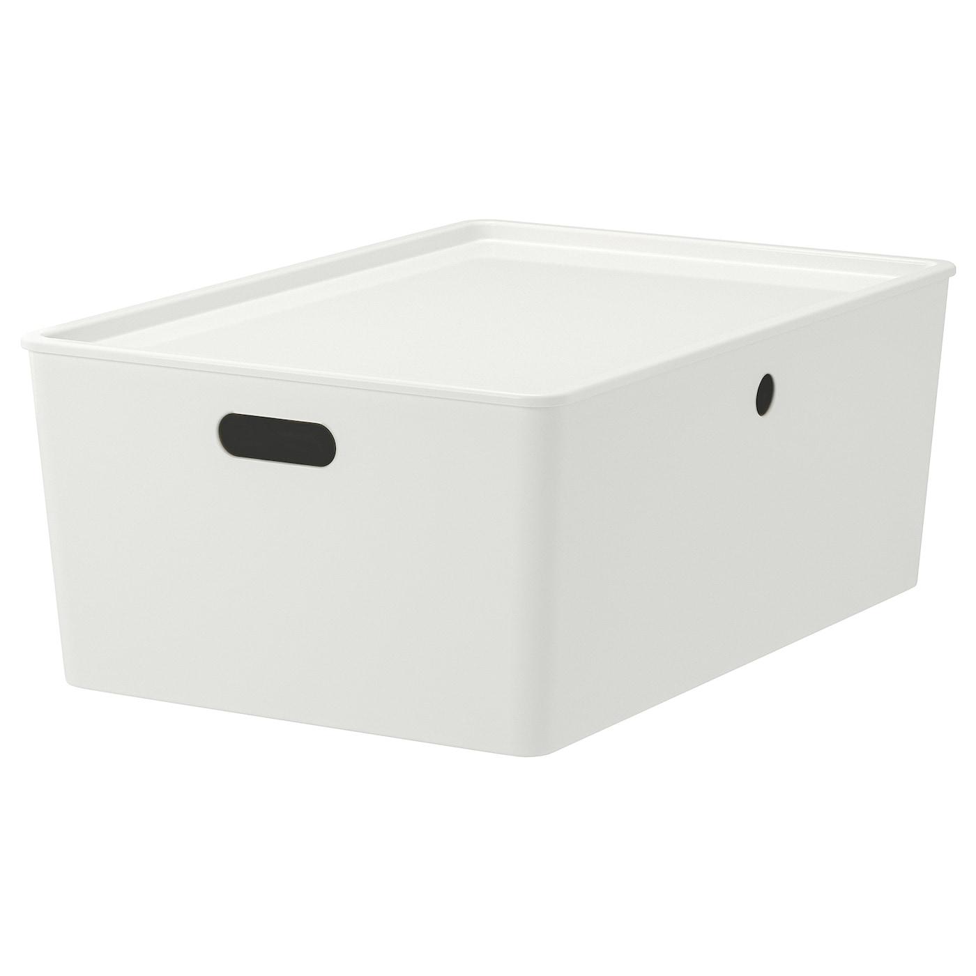 IKEA KUGGIS Box mit Deckel – 54 x 37 x 21 cm