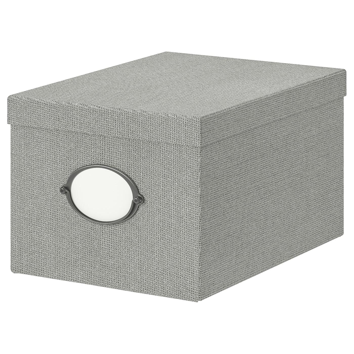 IKEA KVARNVIK Kasten mit Deckel – 35 x 25 x 20 cm
