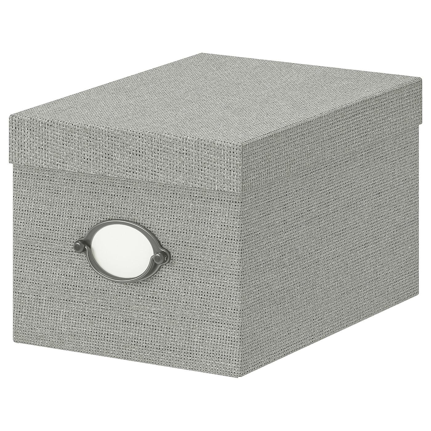 IKEA KVARNVIK Kasten mit Deckel – 25 x 18 x 15 cm