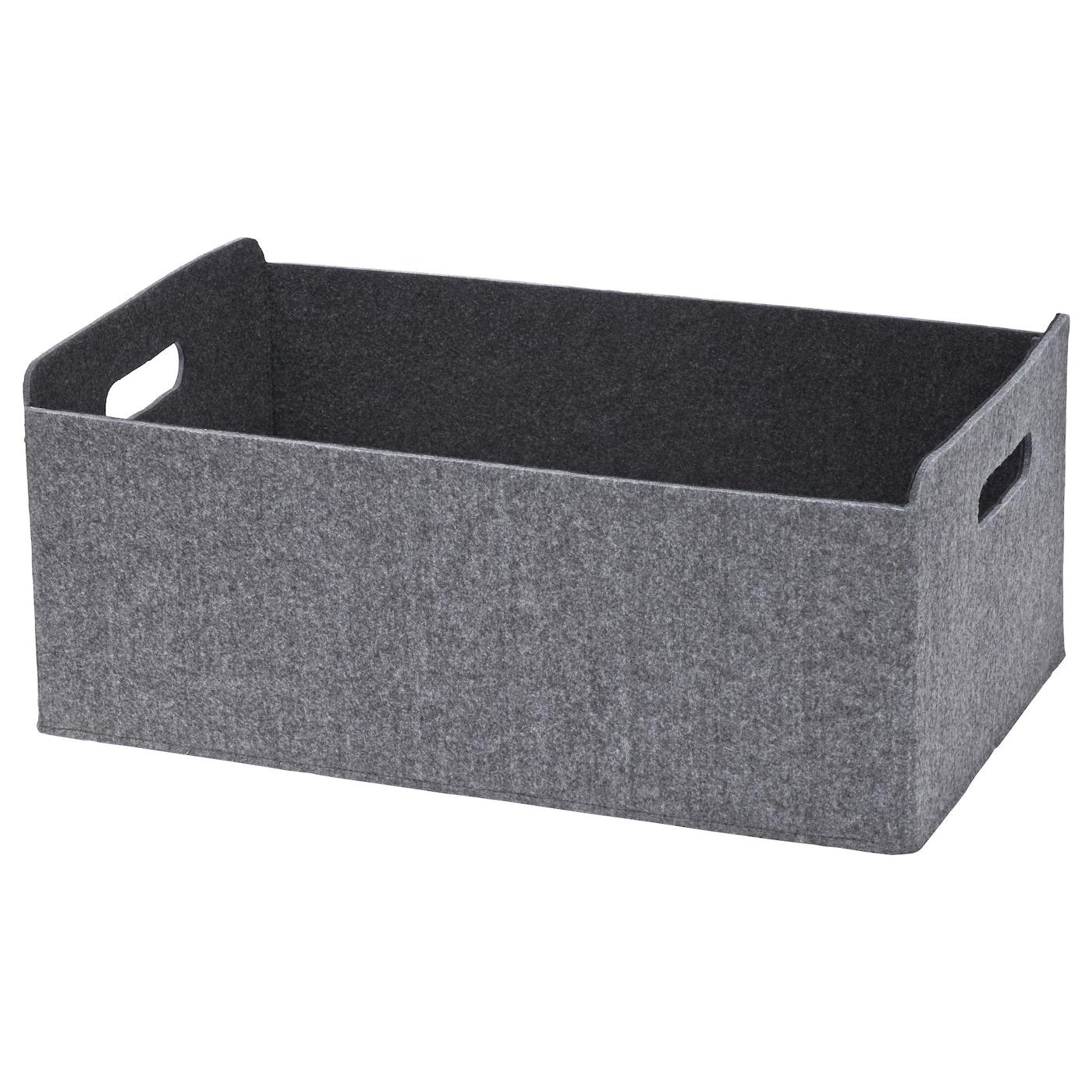 BESTÅ Box – grau – groß