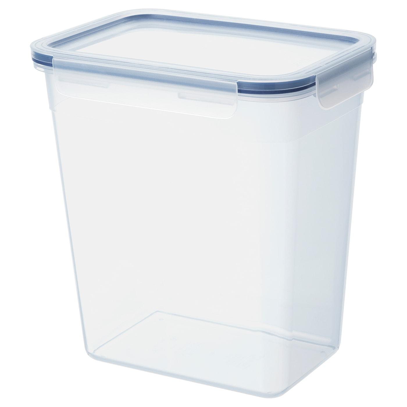 IKEA 365+ Vorratsbehälter mit Deckel – rechteckig – 4,2 l