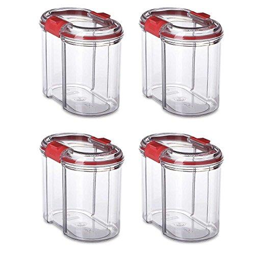 K&G 4er Set Frischhaltedosen luftdicht