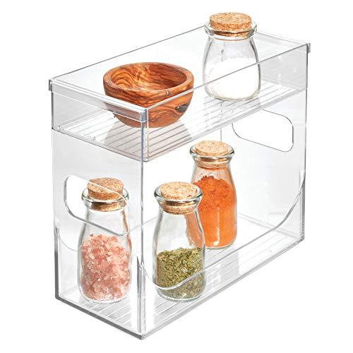 iDesign Aufbewahrungsbox – Küchen Organizer für Gewürze