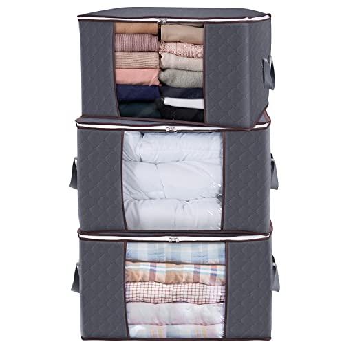 king do way weiße Aufbewahrungsbox mit Deckel 100L für Spielzeug